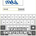 On a scale of Metallica to Meshuggah, how metal are you?