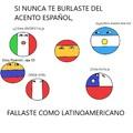 Todos se burlan de los españoles