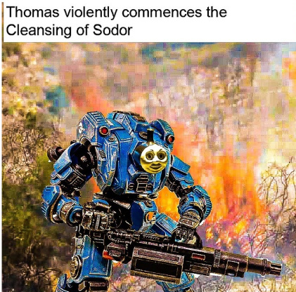 thomas WTF - meme