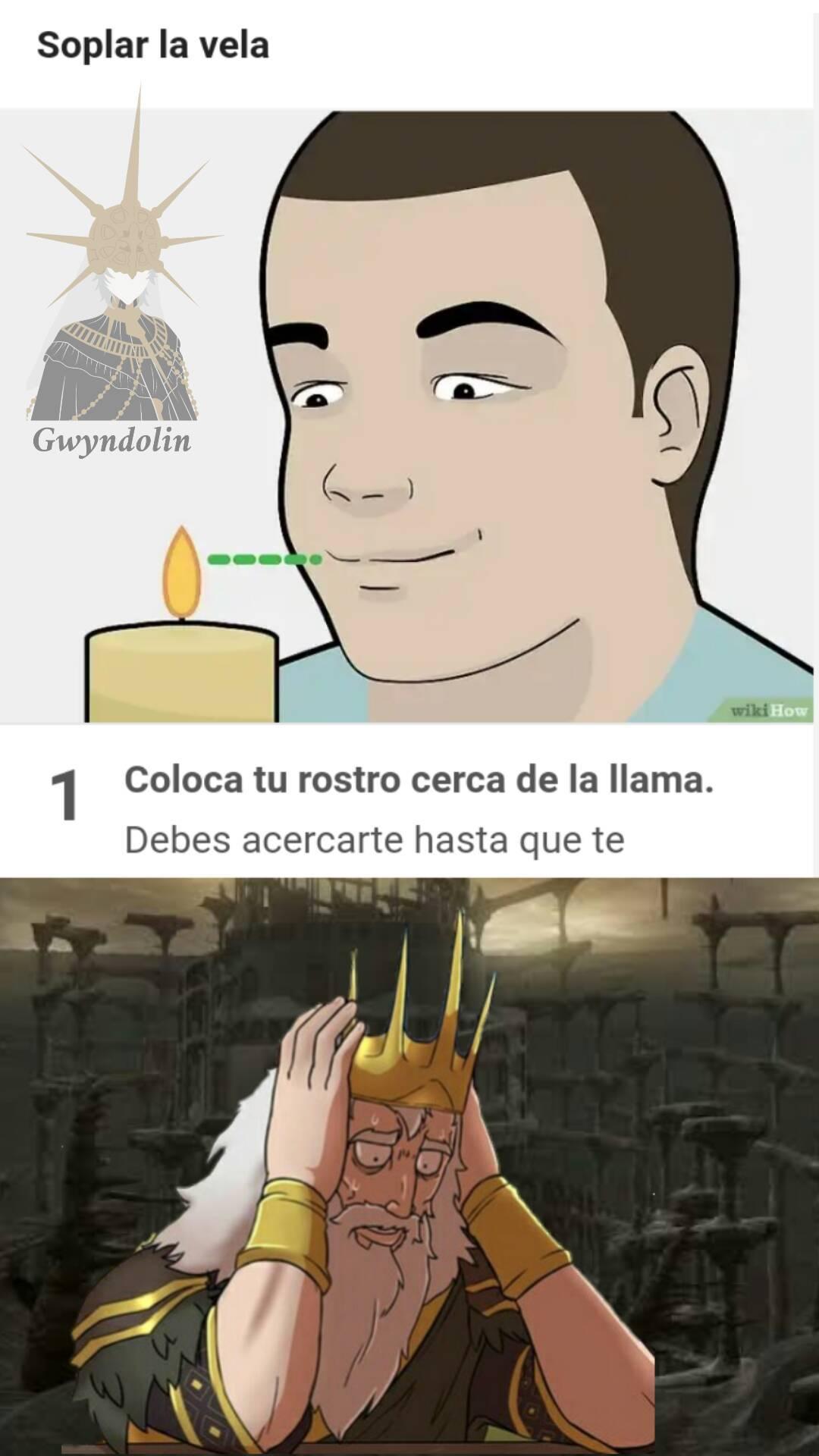 Sopla la vela - meme