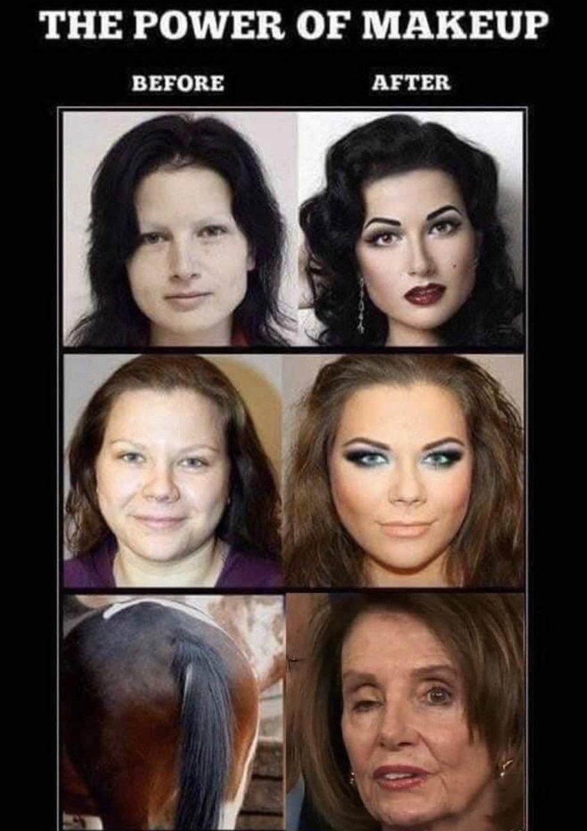 The power of makeup - meme