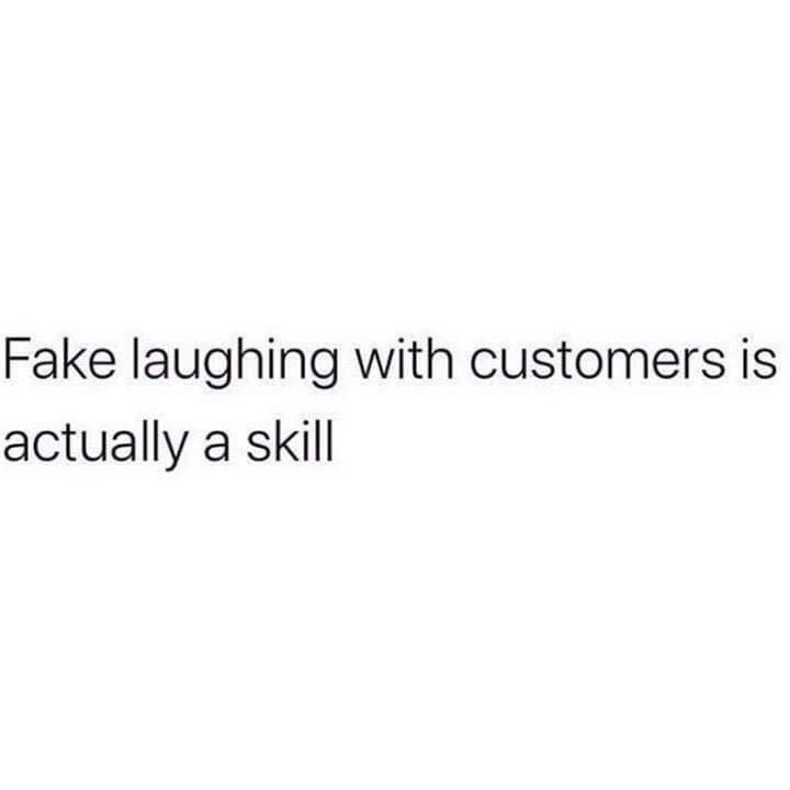 proficient in fake laughing - meme