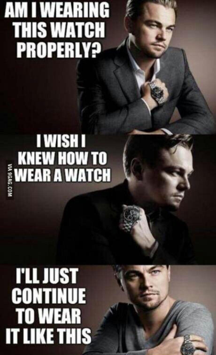 really Leo - meme