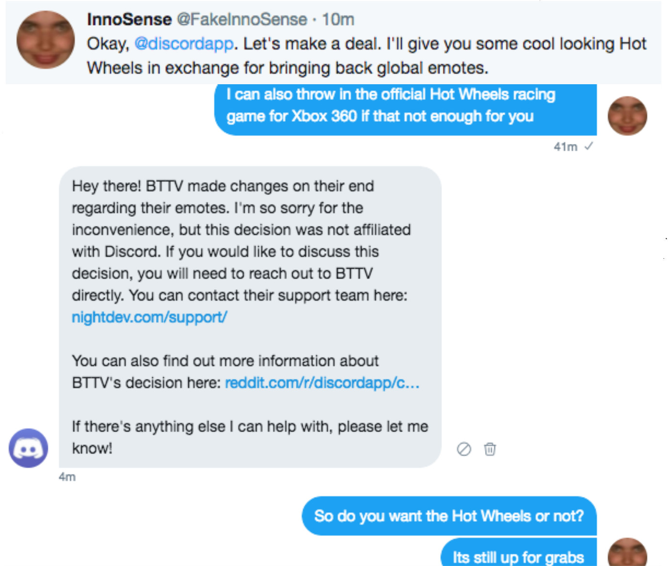 yes i already knew about the bttv stuff - meme