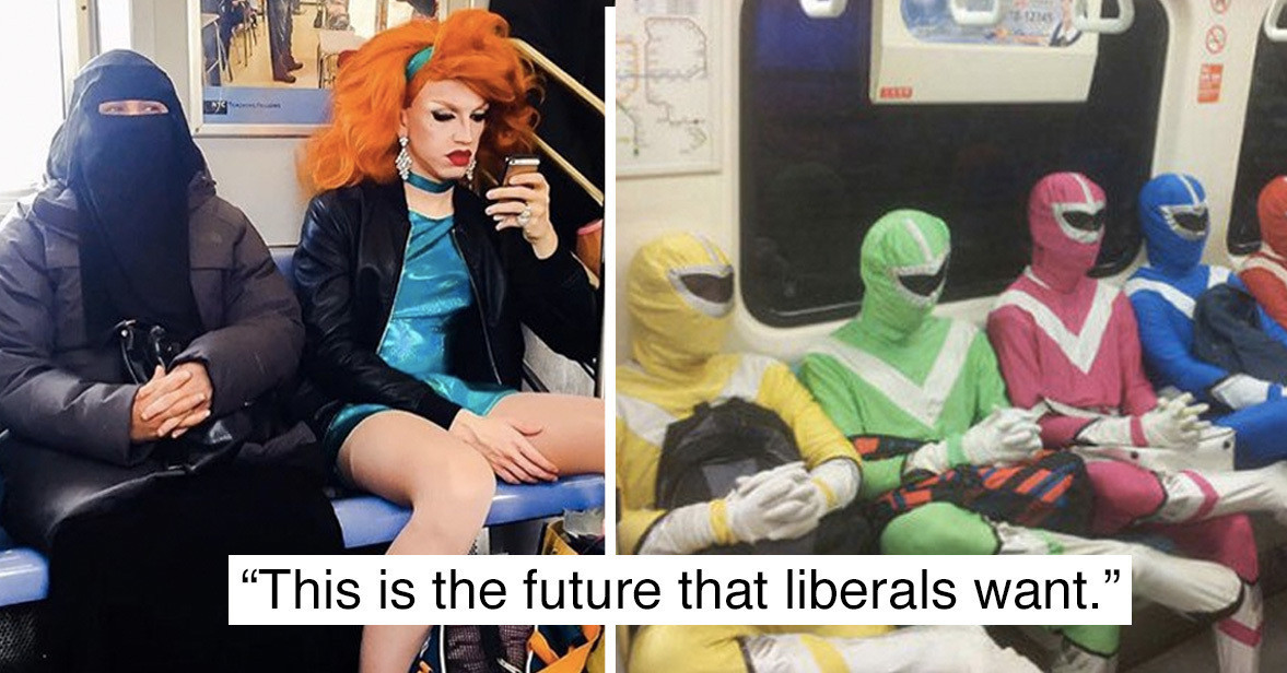 This is the future that liberals want! - meme