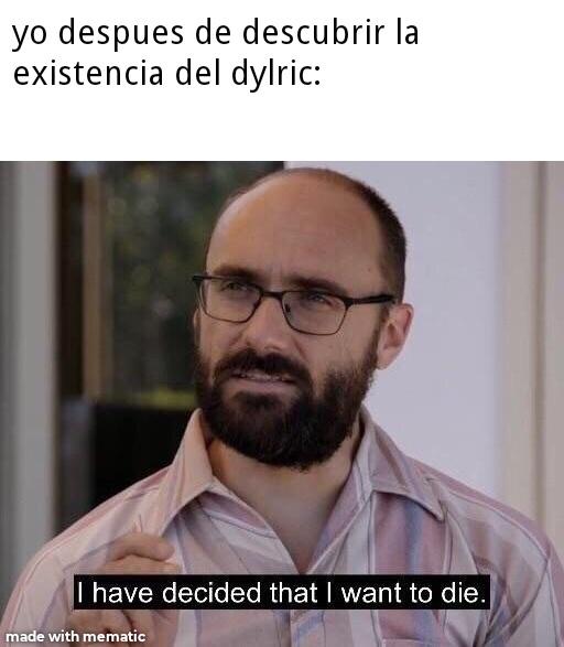 contexto:el dylric es un ship entre eric harris y dylan klebord (dos adolecentes que en 1999 hicieron una masacre en su escuela,la masacre de columbine) - meme