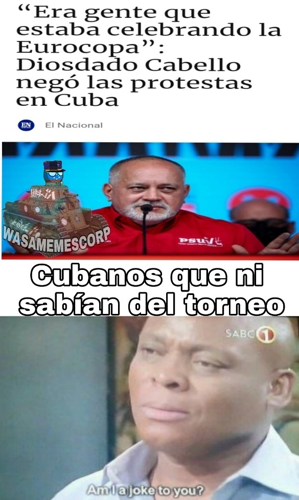 Diosdado Cabello, el segundo hombre más poderoso de Venezuela - meme