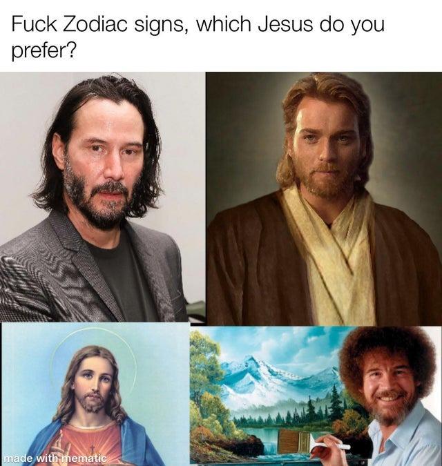 Which Jesus do you prefer? - meme
