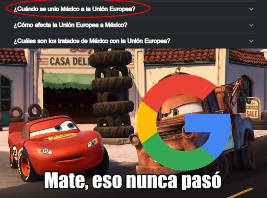 Como si Mexico fuera de primer mundo, el google se fumo la marihuana que legalizaron - meme