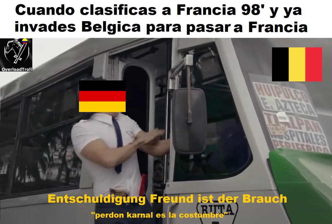 Francia 98'=mundial de futbol - meme