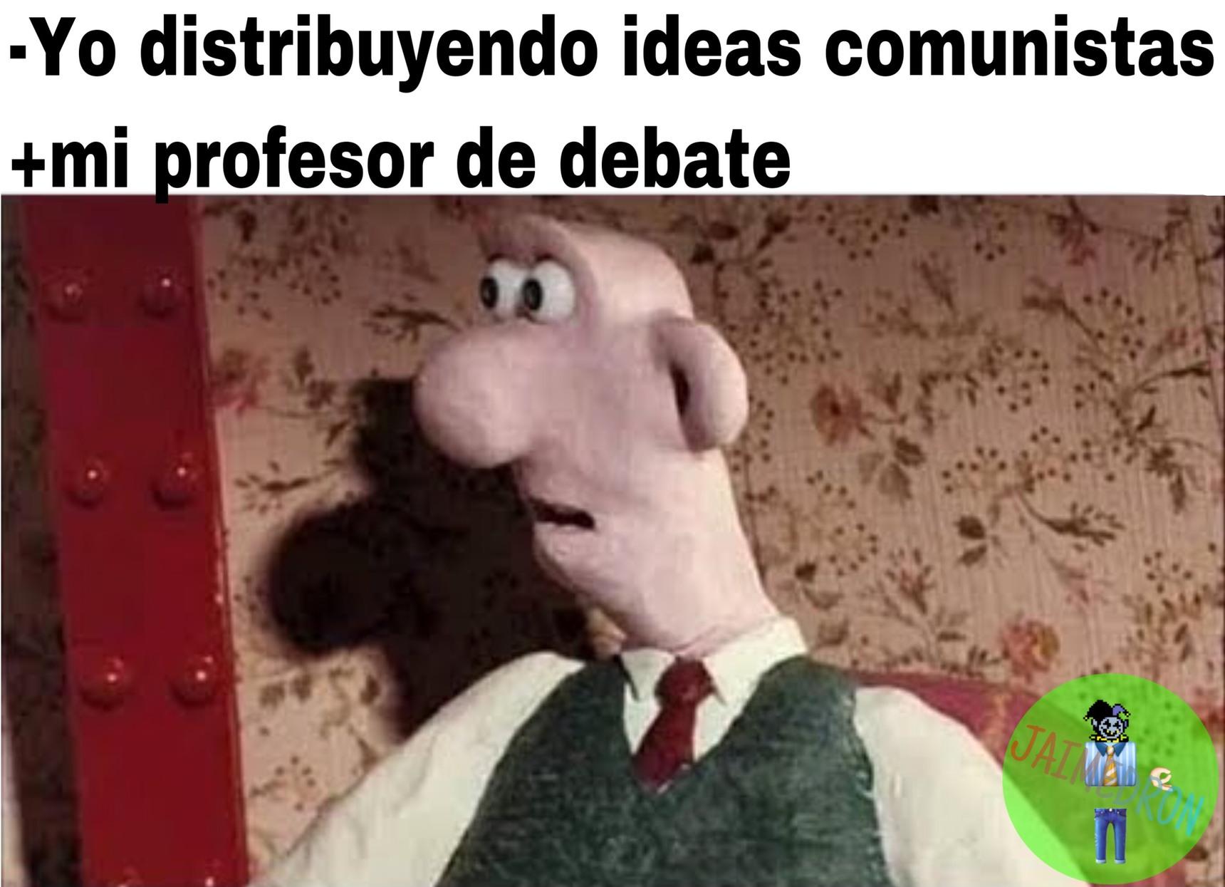 No al comunismo - meme