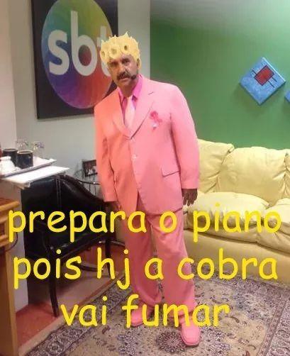 Ratinho Giorno fodase - meme