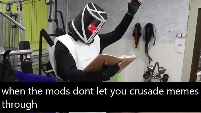 mods have mercy on my soul - meme