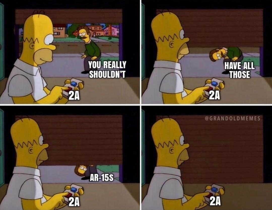 2nd amendment goes brrr - meme