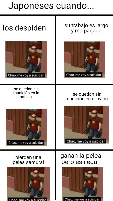 Suicidarse - meme