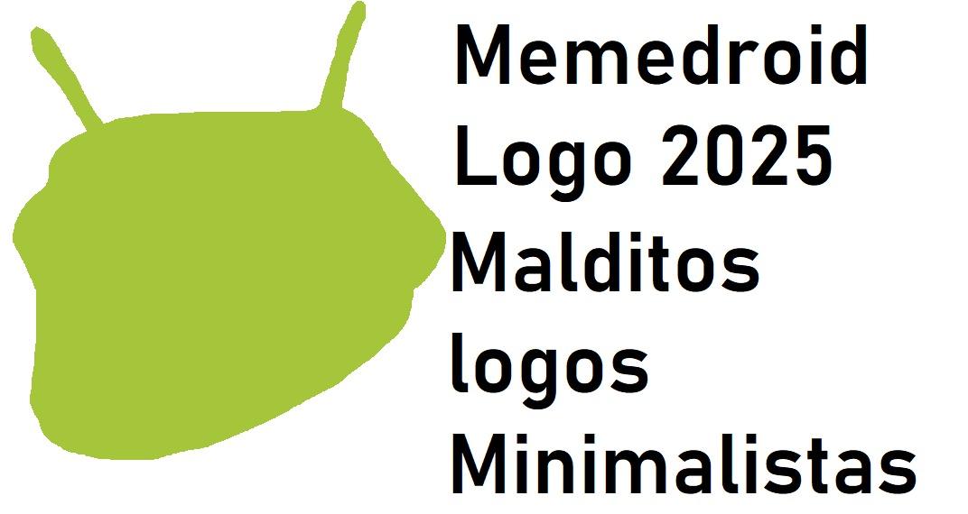 Los logos minimalistas están arruinando todo - meme
