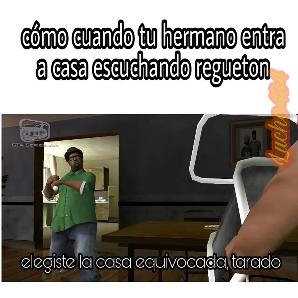 Reggaeton esta man escrito ._. - meme