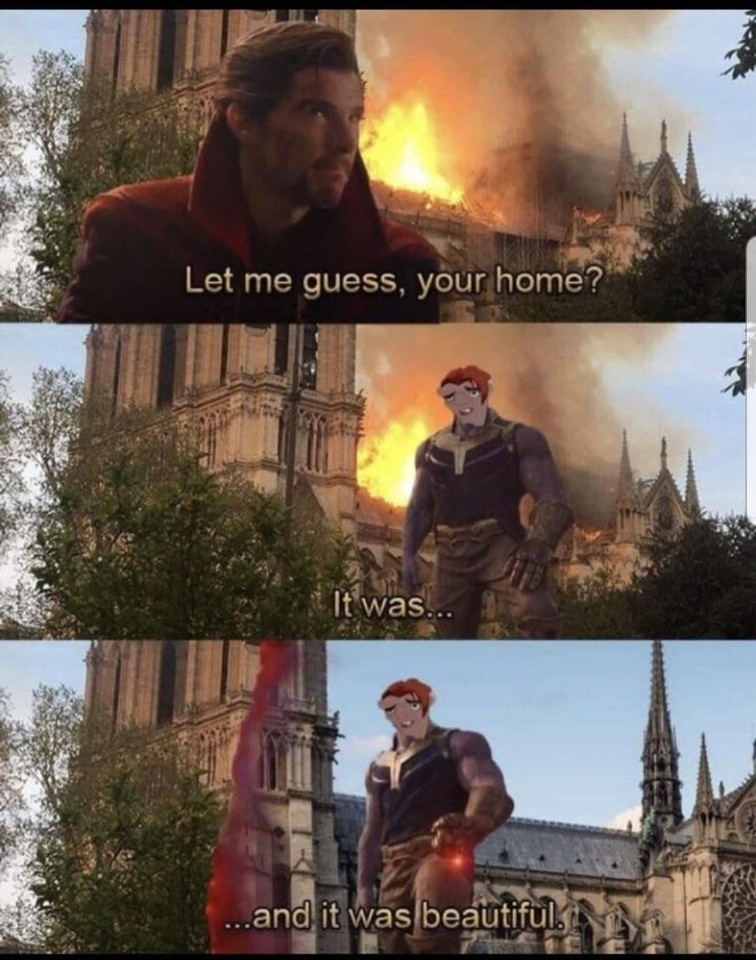 Like fire hellfire - meme
