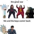 Great War brings Great Sad