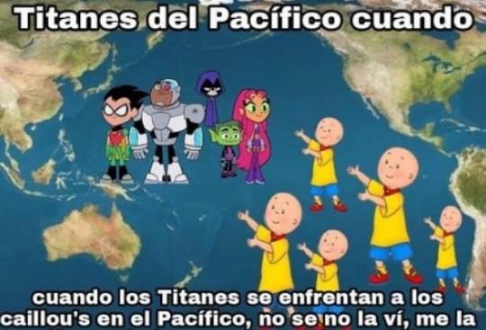 Los Titanes del Pacifico version china - meme