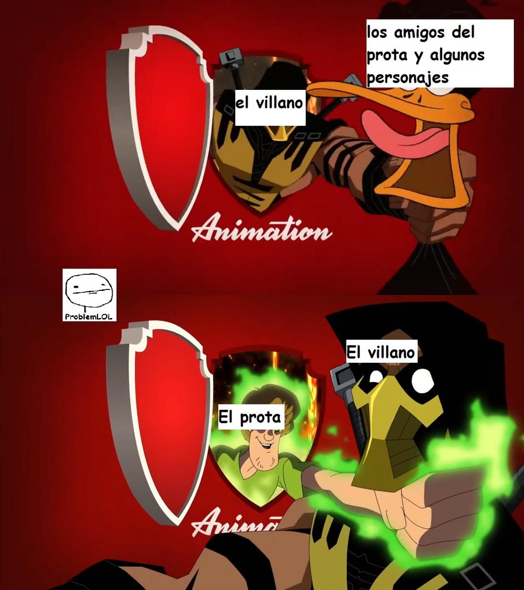 las series en resumen (lanzare la plantilla despues de este meme)