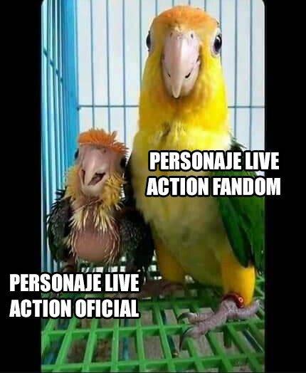 Live action - meme