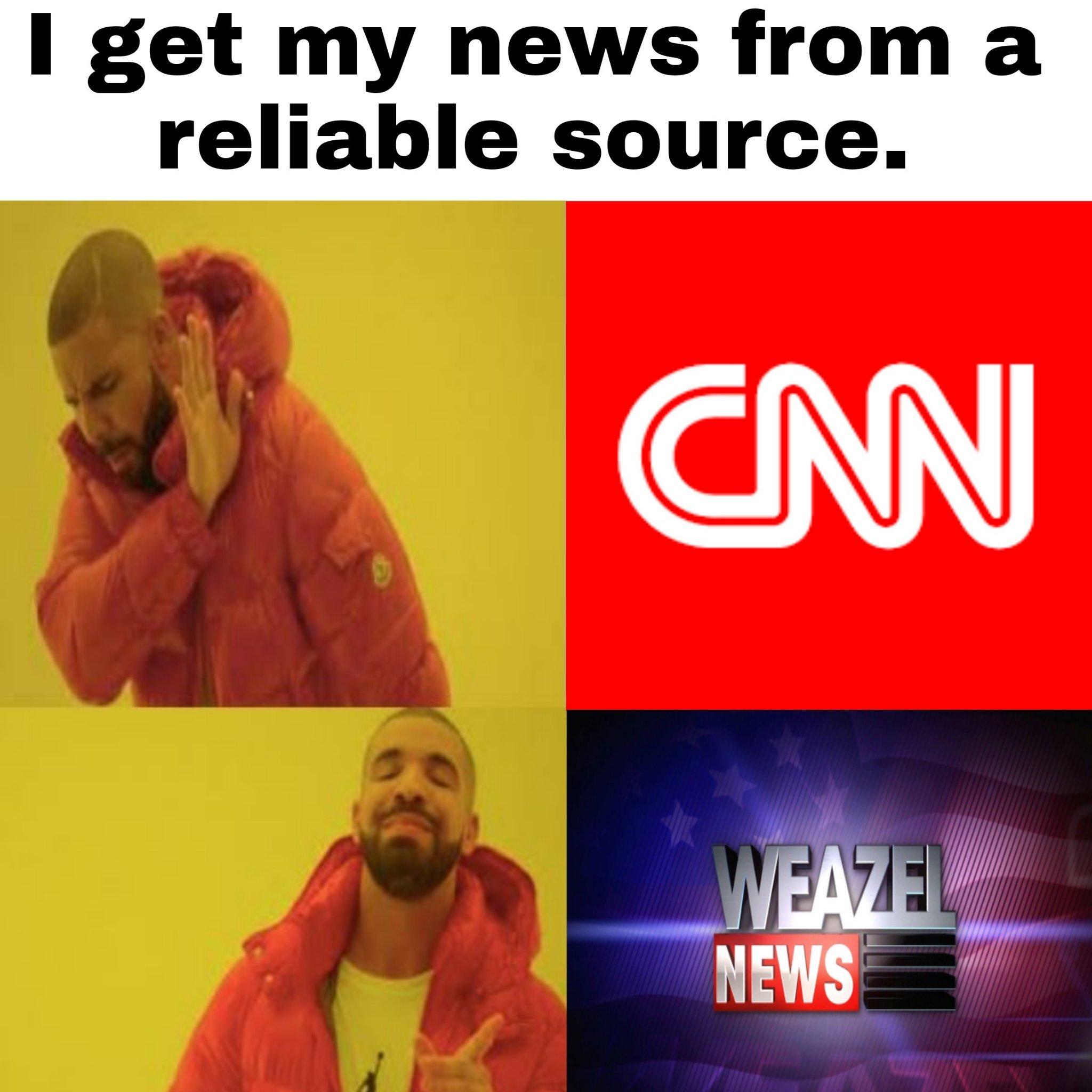 Reliable News - meme