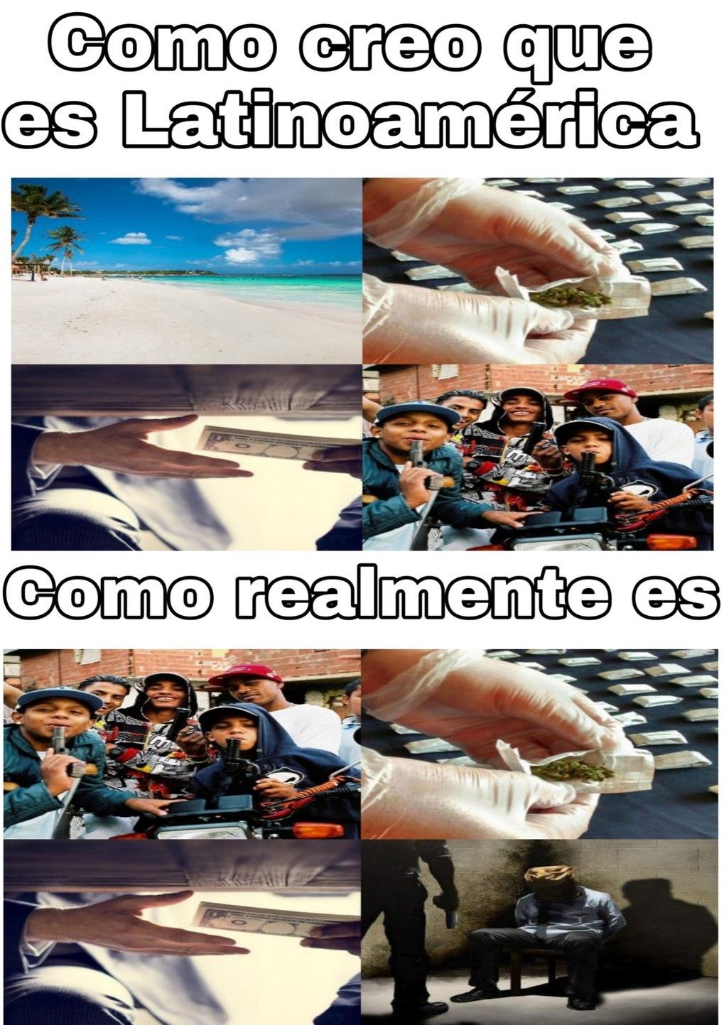 Viva Latinoamérica! - meme
