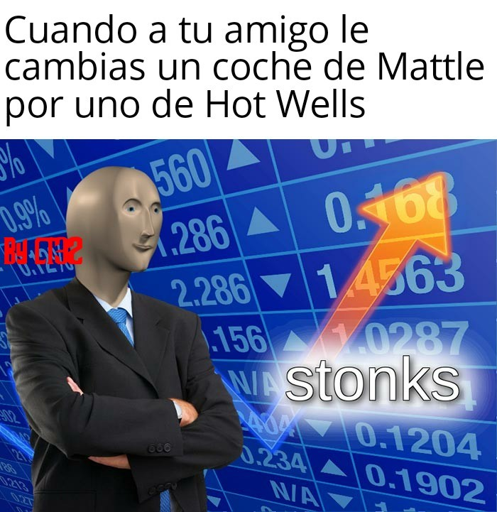 More Stonks - meme