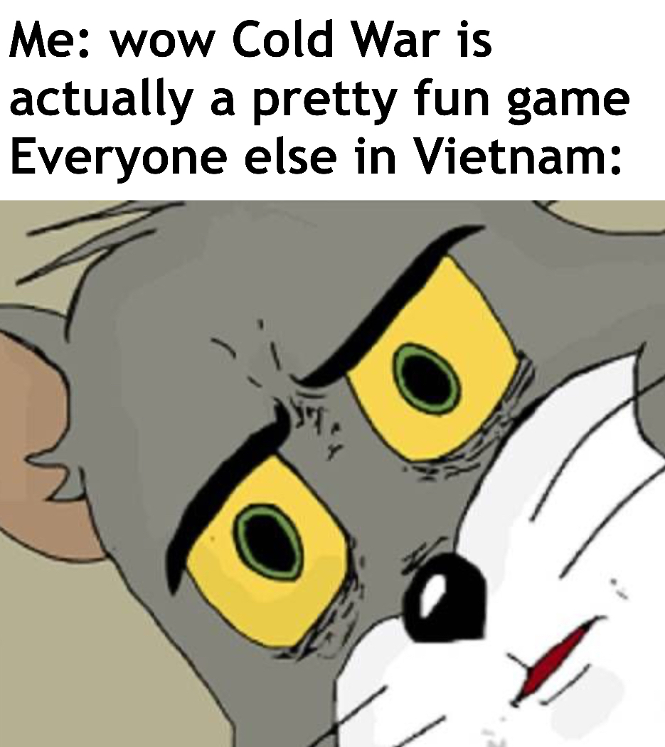 PTSD of those mp5's in nam - meme