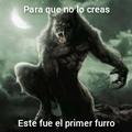 La leyenda se llama hombre lobo pero se parece a un furry :grin: