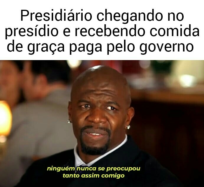 Presidiário brasileiro - meme
