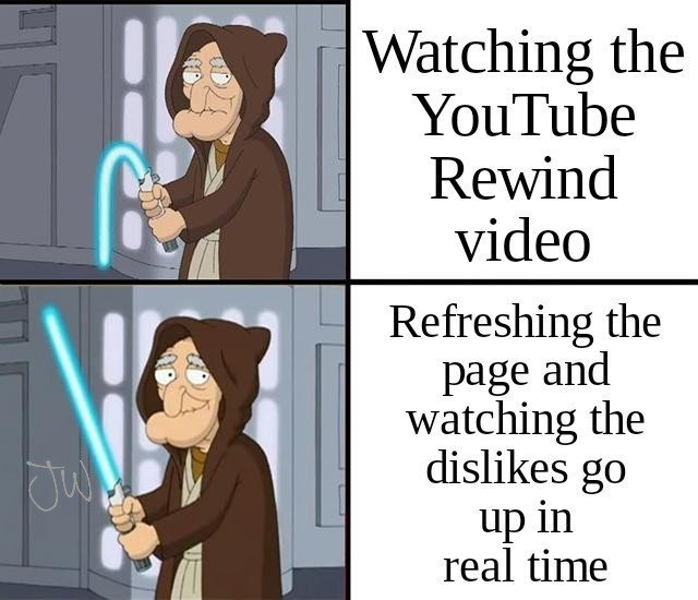 Youtube Rewind - meme