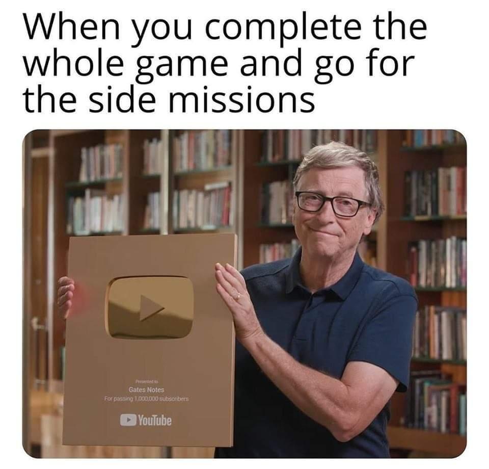 Side mission - meme