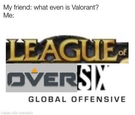 De que va el valorant ese - meme