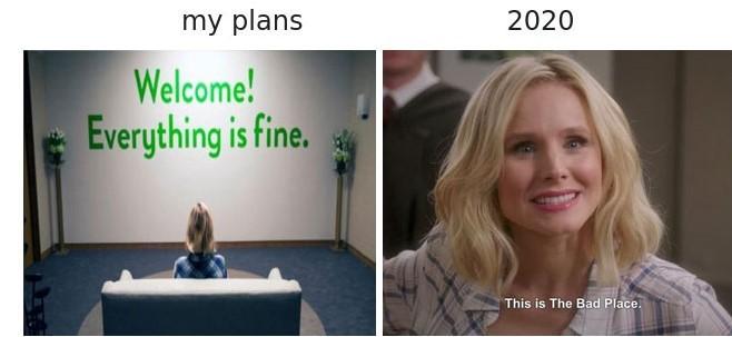my 2020 - meme