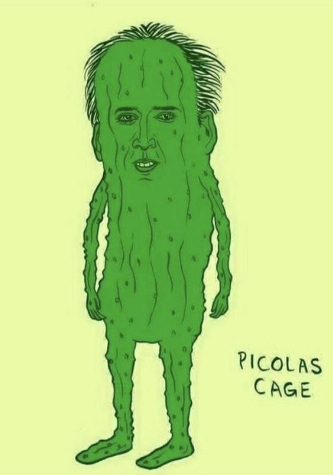 pickle rick's step cousin - meme