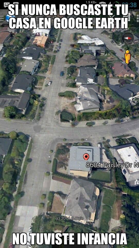 Google Earth - meme