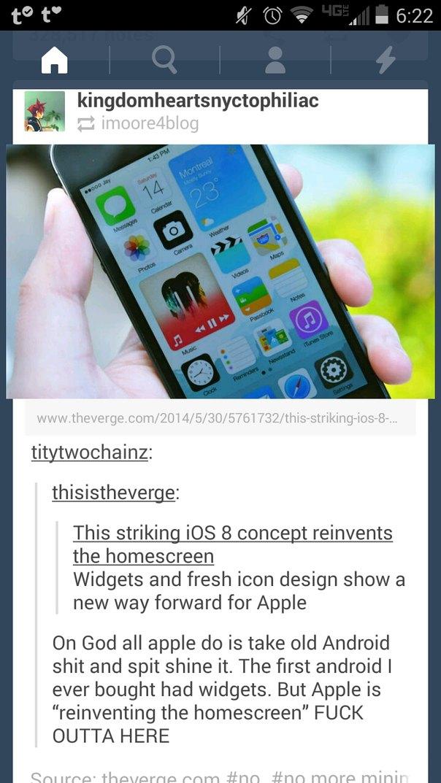 Really, Apple? - meme