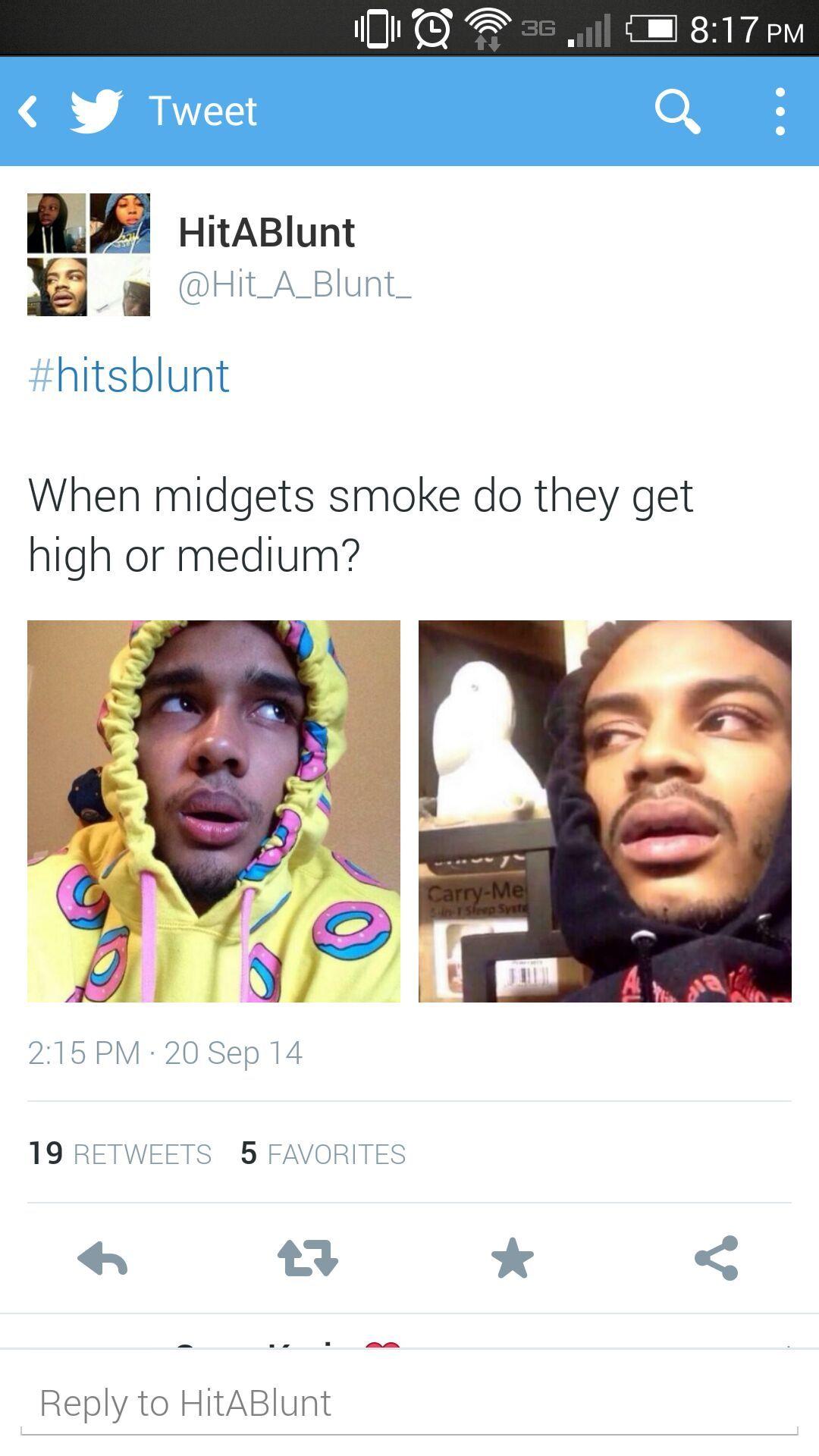 #hitsblunt - meme