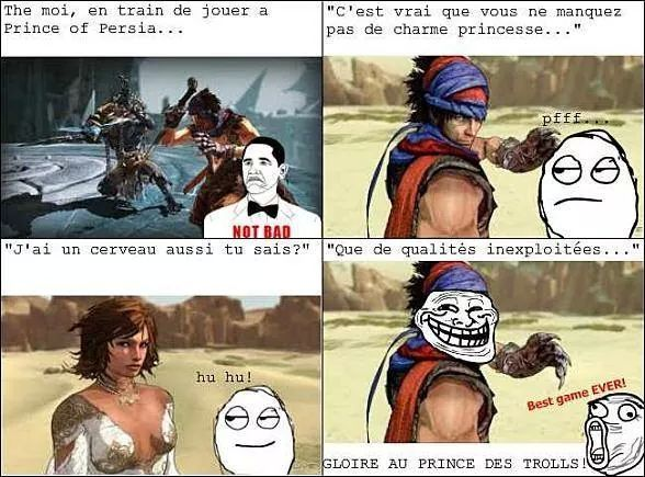 prince of persia - meme