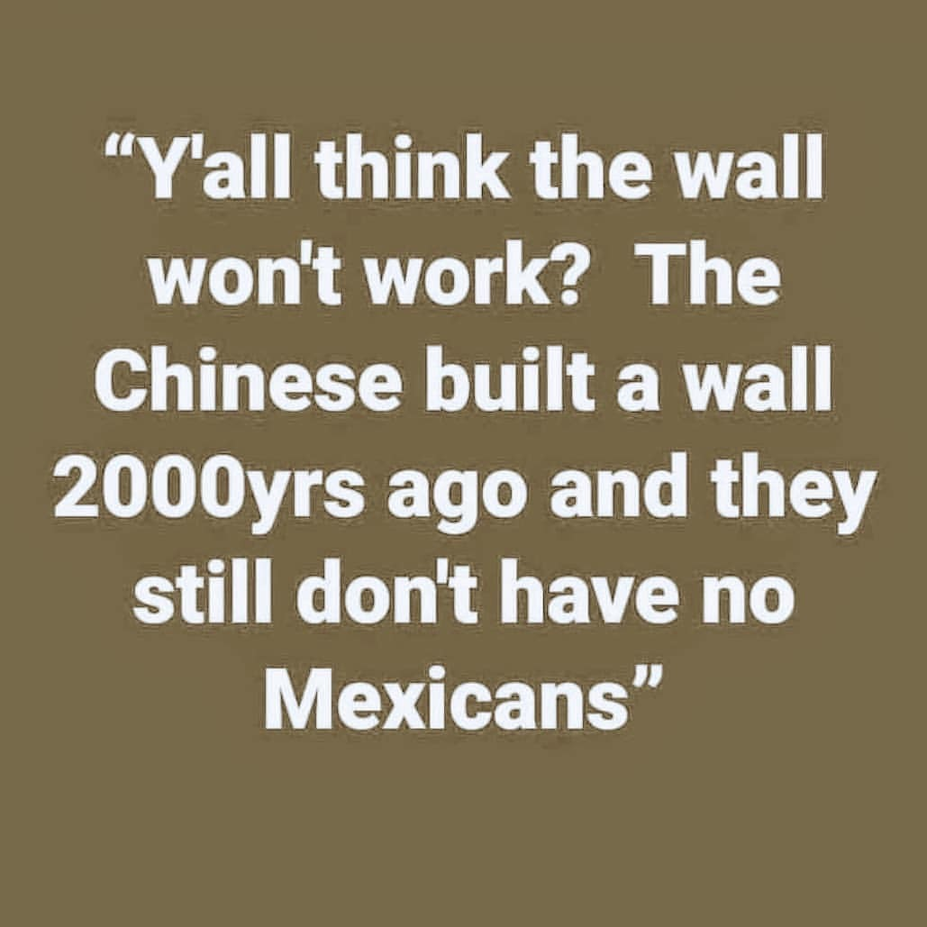 The great wall... - meme