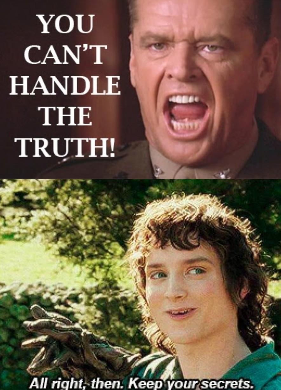 Secrets - meme