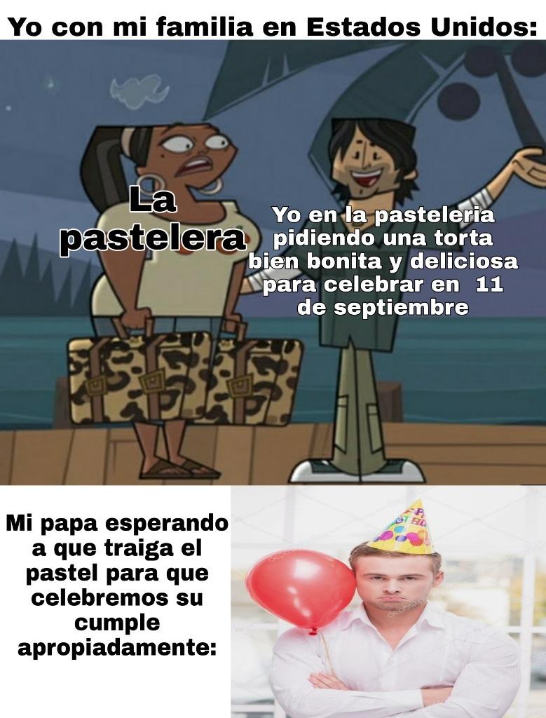Mi papa de veras nació ese dia pero siempre celebramos su cumple aqui en Venezuela - meme