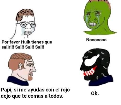 Venom chad - meme