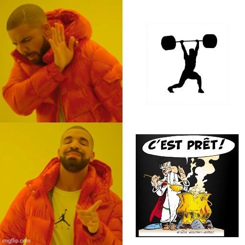 La potion magique est preeeeeeete - meme