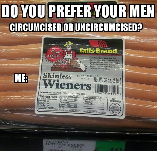How do you prefer? - meme