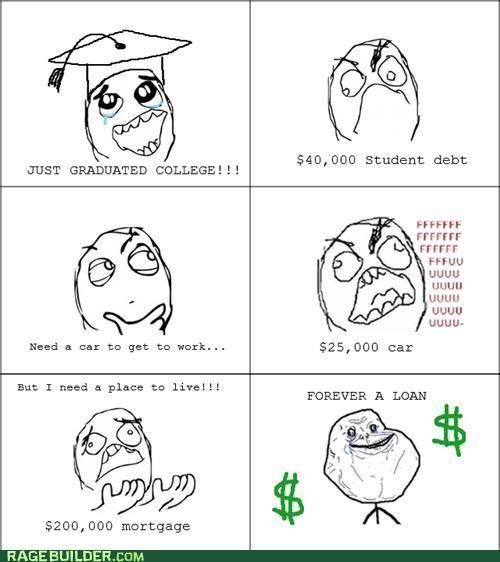 forever a loan - meme