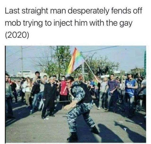 don't get offended ha ha ha - meme