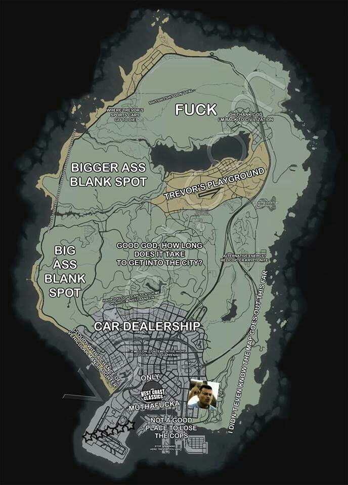Gta5 map - meme